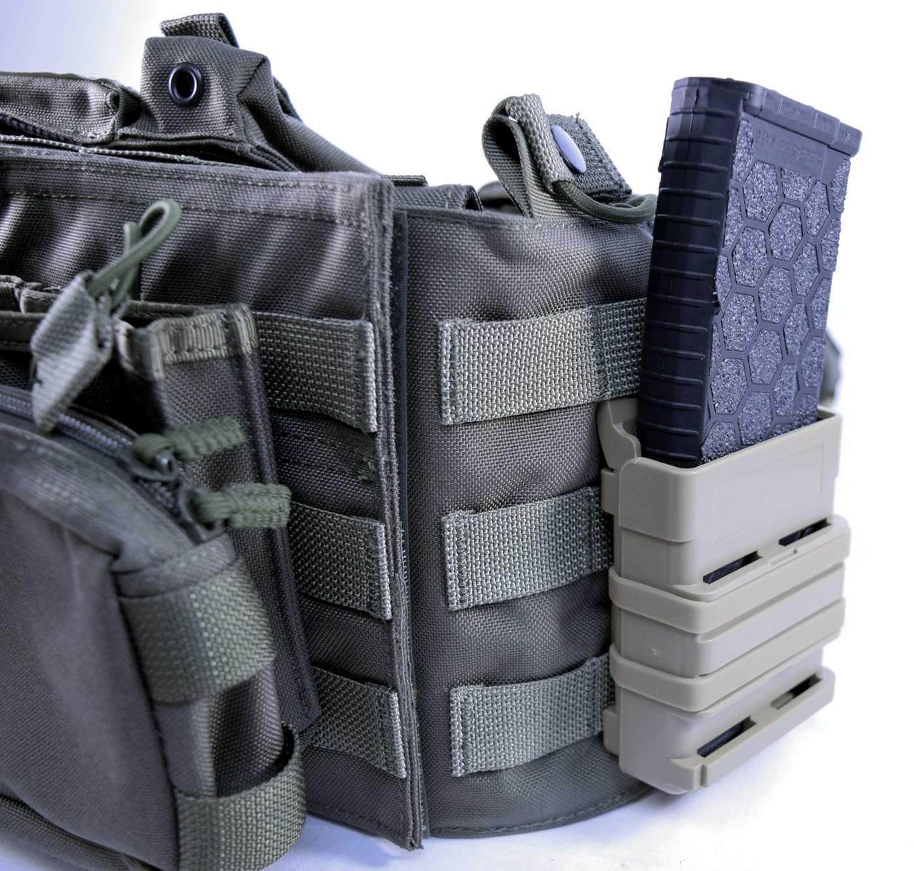 Fast Fang AR Magazine Molle/Belt Mag Holster/Pouch | FDE .223/5.56/5.45