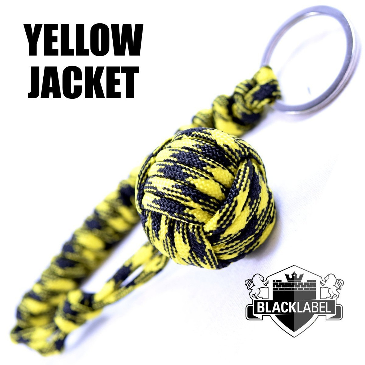 best loved 2cb7b 8ca7e Pit Boss Self Defense Keychain Ball - Yellow Jacket