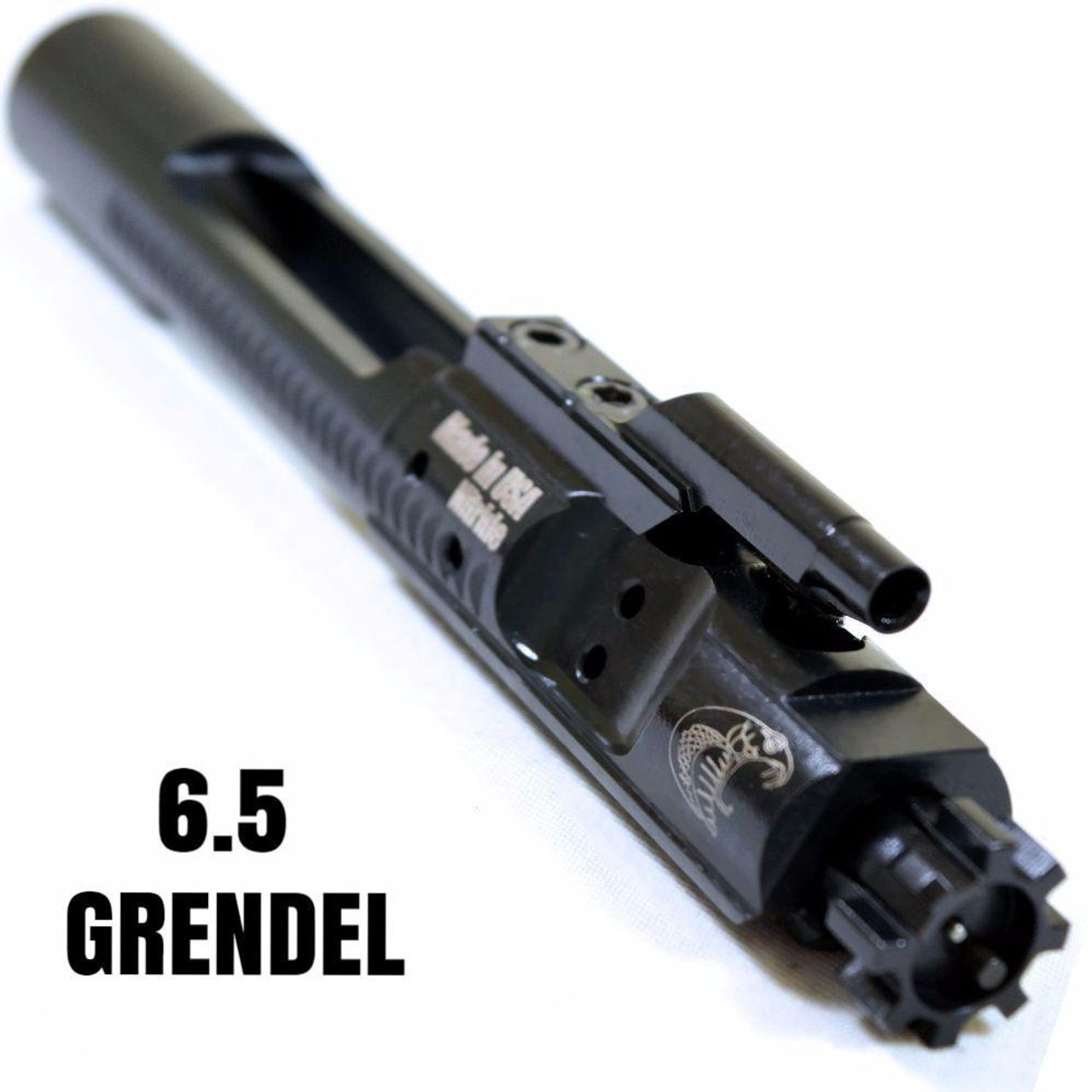 6.5 Grendel Black Nitride BCG | Match Bolt Carrier Group