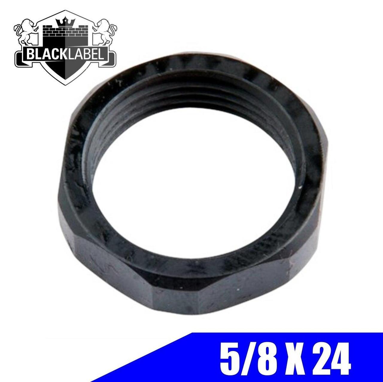 BLACK LABEL Jam Nut, Nitride .308/7.62/6.5 - 5/8X24
