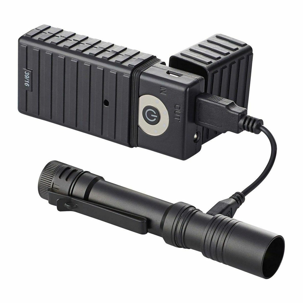 Streamlight Streamlight MacroStream USB Rechargeable Flashlight LED w/Lithium Ion Battery 080926663206