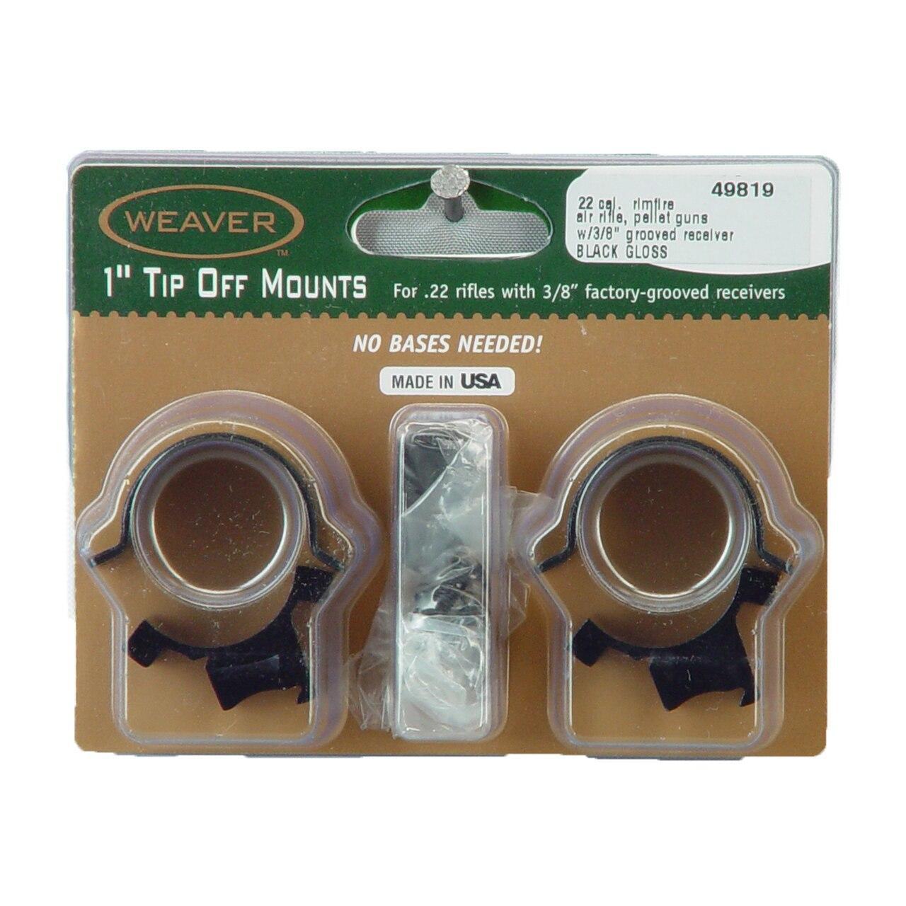 Weaver Weaver Sure Grip Tip Off 1 Gloss 076683498199