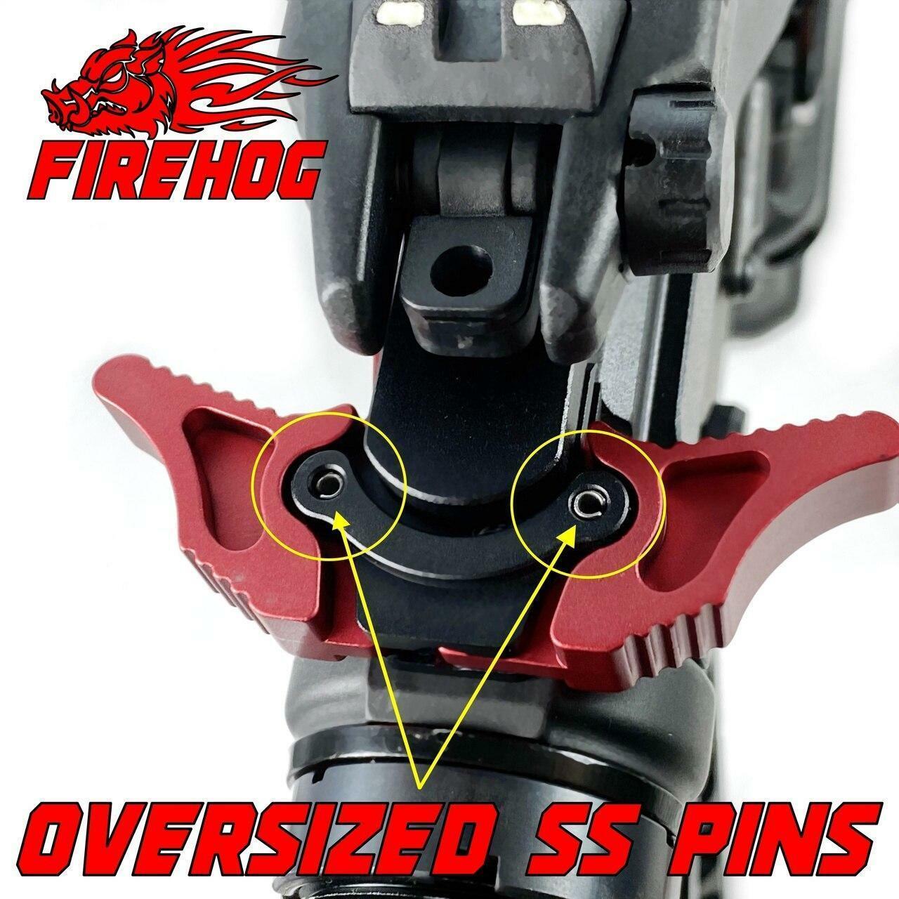 FIREHOG FireHog MOD-GEM4 Ambi Charging Handle with Gas Exhaust Mitigation or RED AR-10 LR.308
