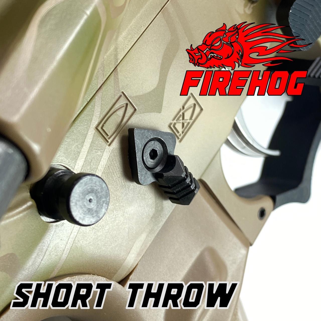 FIREHOG Fire Hog Mod-A90SS Ambidextrous 90 Safety Selector Ambi - RED