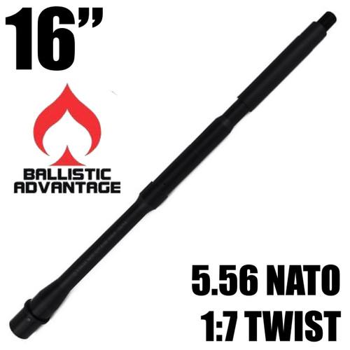 "Ballistic Advantage 16"" Modern M4 Barrel, 5.56 NATO | 1:7 Twist"