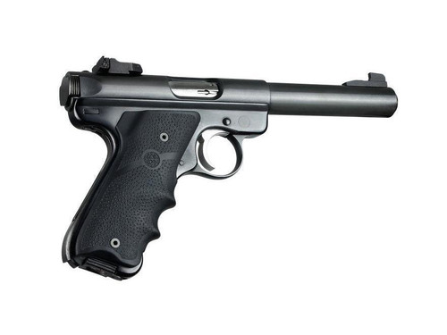 Hogue Monogrip For Ruger Mark II, Mark III Rubber Black 82000