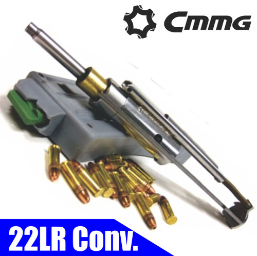 Cmmg 22LR AR Bravo Conversion Kit - 3x25 rd Mags, Stainless BCG (CT35CMMG22BA651)