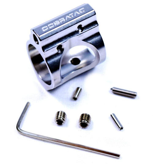 ADJUSTABLE 3-GUN GAS BLOCK STAINLESS | .750