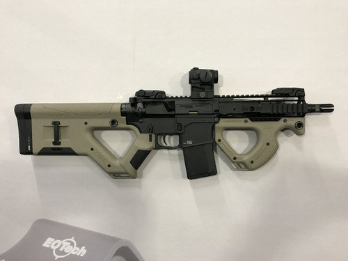 HERA USA CQR Stock AR-15 Replacement Fixed Stock Mil-Spec Polymer Tan (CT35HERA12-13)
