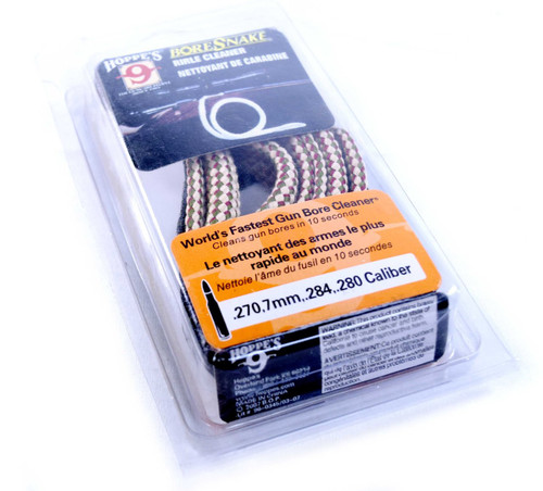 Hoppes Bore Snake Rifle Cleaner | .270, 7mm, .284, .280 Caliber