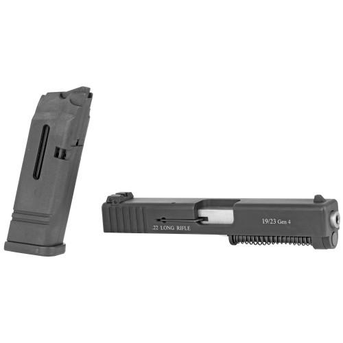 "Advantage Arms, Conversion Kit, 22LR, 4.02"" Barrel, Fits Glock Generation 4 19/23, Black w/MAG & Bag"