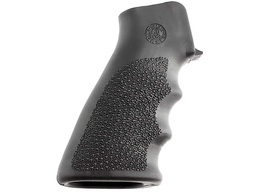 Hogue Grips Overmolded Grip, Ar-15/m16, Rubber, Finger Grooves, Black (CT35HO15000)