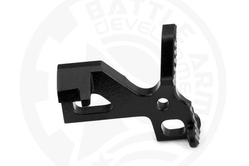 Battle Arms Development, Inc. Enhanced Bolt Catch, Billet 4150 Steel, Black