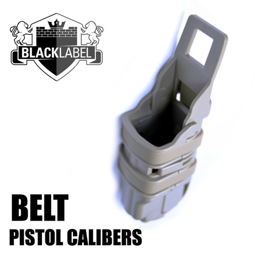 Fast Fang Pistol Magazine Molle/Belt Mounted Mag Holster/Pouch | FDE