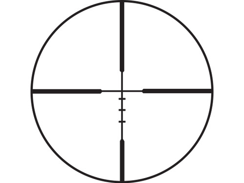 Burris Handgun Scope, 3-12x32mm, Ballistic Plex Reticle, Matte Finish (CT35BU200309)