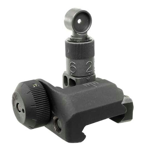 Kac Rear Sight 200-600m Flip-up Black