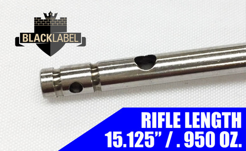 "Black Label Rifle Gas Tube 15.125"" - Stainless 