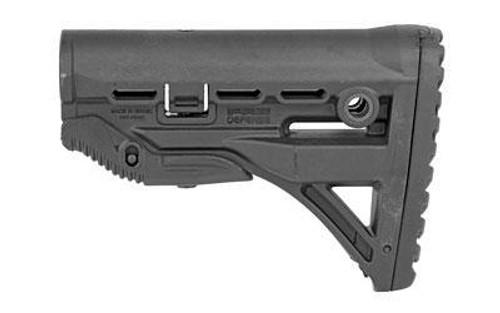 Fab Def Gl-shock Ar15 Stock Black
