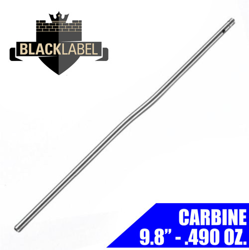 "Black Label Carbine Gas Tube 9.8"" - Stainless 