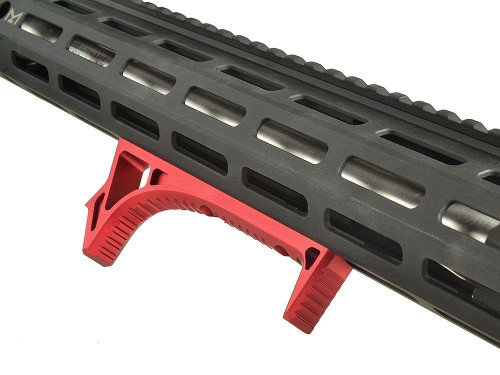 Curved Foregrip Forward Grip Keymod - Red (AS-ACFG1274)