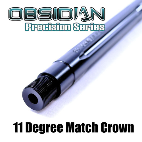 "18"" 6.5 GRENDEL NITRIDE FLUTED OBSIDIAN MATCH BARREL 