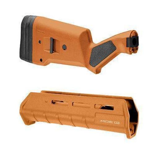 Magpul Industries SGA Shotgun Stock Remington 870 Polymer Orange MAG460-ORG