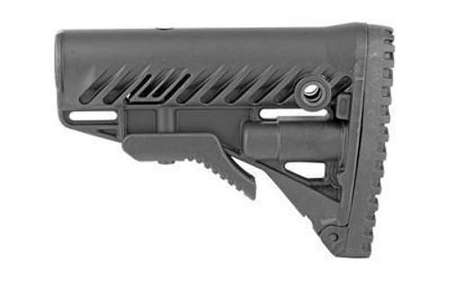 Fab Def Ar15-m16 Stock W-comp Black