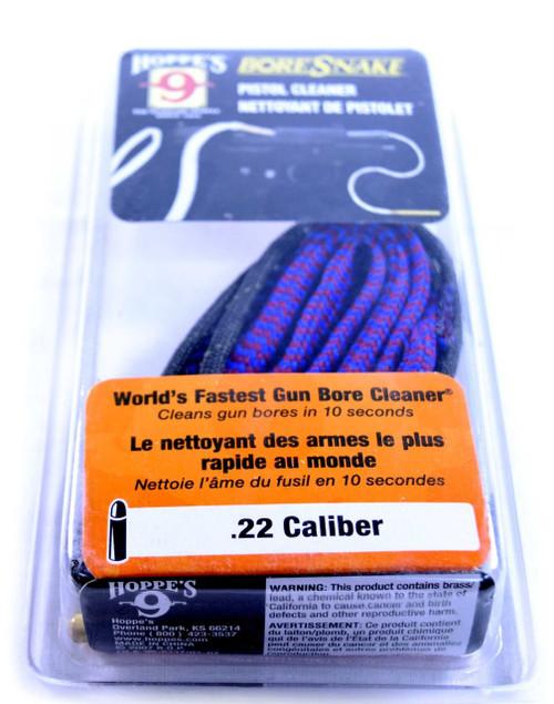 Hoppes Bore Snake Pistol Cleaner | .22 Caliber