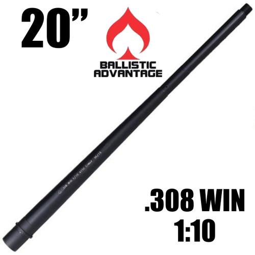 """20"""" Ballistic Advantage Modern Barrel, 308 Win/7.62X51 NATO"""