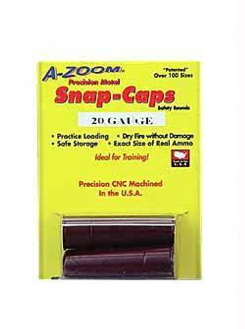 Azoom Snap Caps 20ga 2-pk
