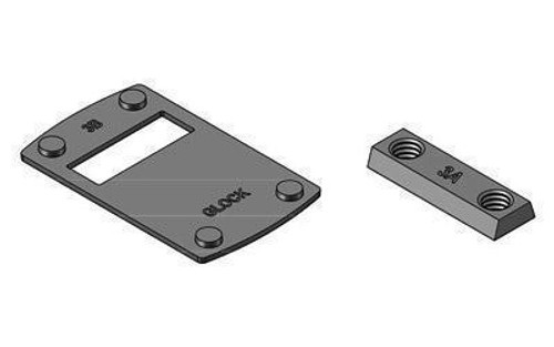 Leup Deltapoint Pro Mount For Glock