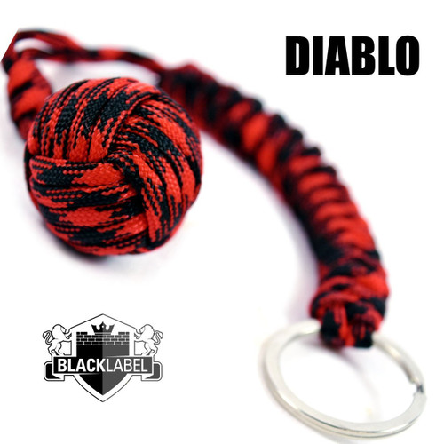 Pit Boss Self Defense Steel Bearing Survival Paracord EDC - DIABLO (SD-01191006)