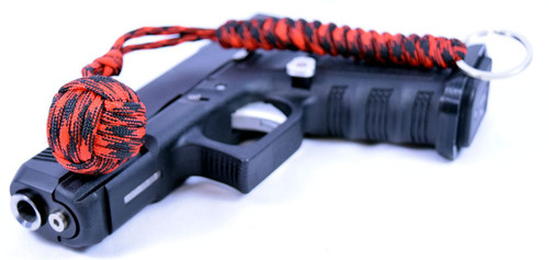 Pit Boss Self Defense Steel Bearing Survival Paracord EDC - DIABLO