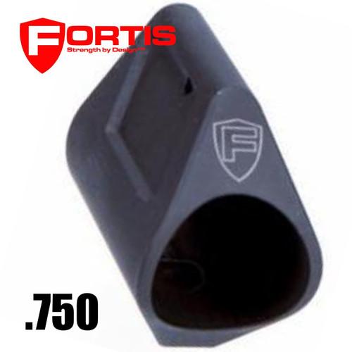 Fortis Manufacturing, Inc. Low Profile Steel Gas Block, .750 | Black