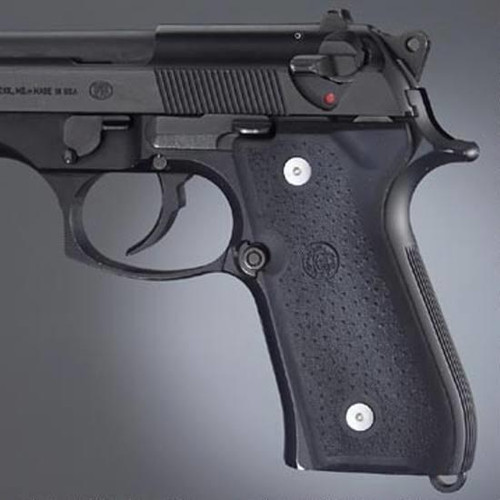 Hogue Beretta 92, 96, M9 Panels Rubber Black 92010