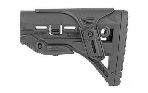 Fab Def Gl-shock Ar15 Stk W-riser