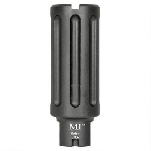 Midwest Industries Blast Can AR-10/.308 AR Muzzle Device .30 Caliber Threaded 5/8x24 6061 Aluminum Hard Coat Anodized Matte Black