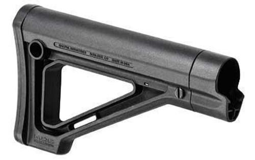 Magpul Industries MOE Fixed Carbine Stock AR-15 Mil-Spec Black (CT35MPIMAG480BLK)