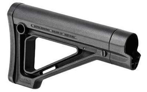 Magpul Industries MOE Fixed Carbine Stock AR-15 Mil-Spec Black (CT35MPIMAG480BLK)