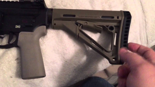 B5 Systems P-Grip AR-15 Pistol Grip Reinforced Polymer Flat Dark Earth PGR-002-01