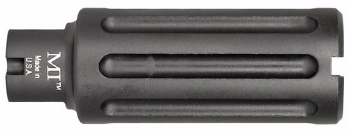 Midwest Industries Blast Can AR-15 Muzzle Device 5.56mm NATO Threaded 1/2x28 6061 Aluminum Hard Coat Anodized Matte Black (CT35MWMI-BC556)