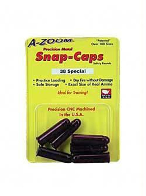 Azoom Snap Caps 38spl 6-pk
