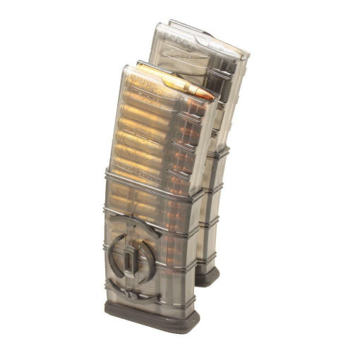 Elite Tactical Systems Group Elite Tactical Systems Group ETS Mag, 223 Rem, 556nato, 30 Round Magazine, Smoke, Integrated Coupler, 854094005003