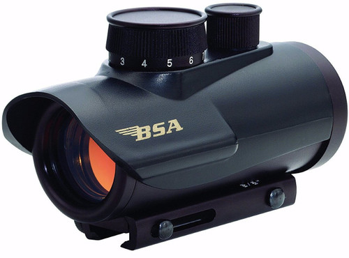 BSA Optics 30mm Matte Black Finish Red Dot Sight | 5 Moa