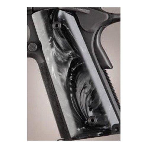 ogue Grips Polymer Grip, 1911 Govt Model, Ambi Cut, Black-Pearlized 45418