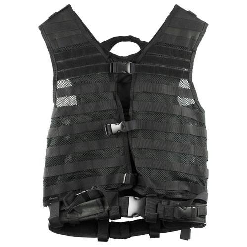 Ncstar Vism Molle Vest Med-2xl Black