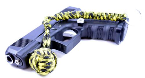 Pit Boss Self Defense Steel Bearing Survival Paracord EDC - YELLOW JACKET