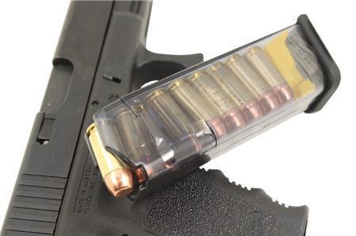 ETS Elite Tactical Systems Group Mag, 9mm, 22 Round, Smoke, Fits Glock 17/22,19/23 Gen 3 And Gen 4