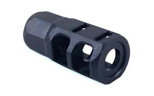 "Nordic Components AR-15 NCT3 Compensator 9mm Luger Threaded 1/2""x28 Nitride Finish Matte Black"