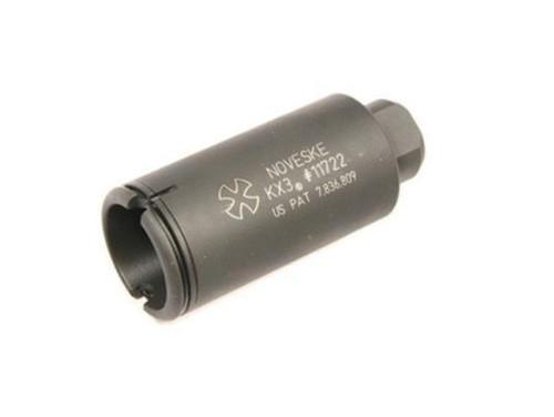 Noveske AR-15 KX3 Flash Suppressor 5.56 NATO 1/2x28 Threads Nitride Black